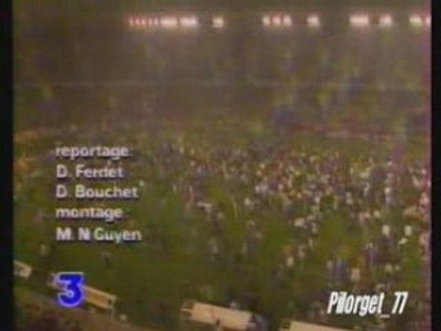 PSG CHAMPION 93-94 - reportage FR3