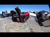 Skydivers Over the Age of 60 Attempt World Record Jump