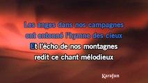 Frédéric François - Les anges dans nos campagnes KARAOKE / INSTRUMENTAL