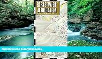 Full Online [PDF]  Streetwise Jerusalem Map - Laminated City Center Street Map of Jerusalem,