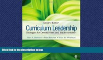 READ book  Curriculum Leadership: Strategies for Development and Implementation  FREE BOOOK ONLINE