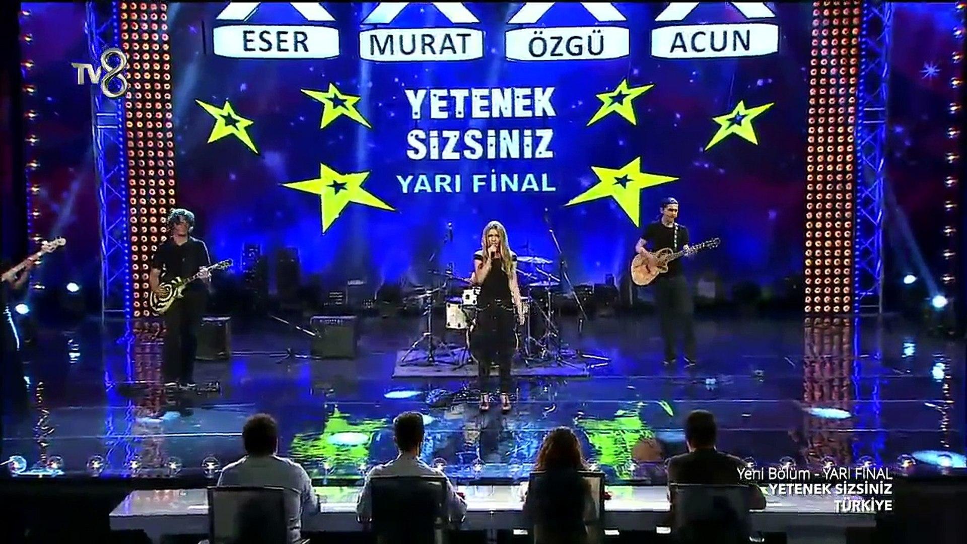 Aleyna Tilki - Uzun İnce (Yetenek Sizsiniz Yarı Final Performansı)