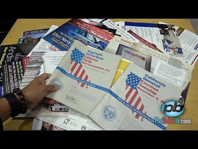 Cận cảnh nội dung tài liệu bầu cử Mỹ bằng tiếng Việt