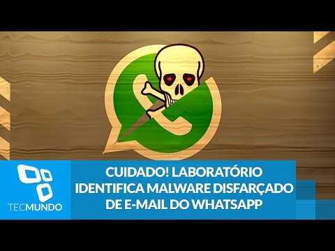 Cuidado! Laboratório identifica malware disfarçado de e-mail do WhatsApp