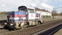 Lokomotiva 709 401-4 - Ústí nad Orlicí město, 8.11.2016 HD