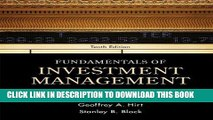 Best Seller Fundamentals of Investment Management (McGraw-Hill/Irwin Series in Finance, Insurance