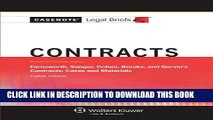 [PDF] Contracts, Keyed to Farnsworth, Sanger, Cohen, Brooks, and Garvin (Casenote Legal Briefs)