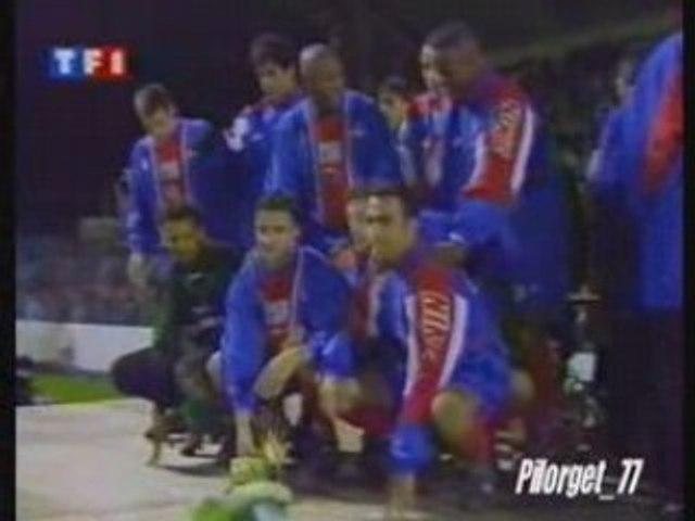 FCNA-PSG, TROPHEE DES CHAMPIONS 95