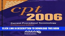 [FREE] EBOOK CPT  Professional Edition - 2006 (Current Procedural Terminology (CPT) Professional)