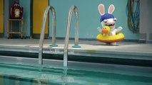 Les Lapins ne savent pas nager | The Lapins Crétins [FR]