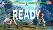 STREET FIGHTER V Survival Mode Cammy Playthrough (Easy)