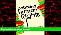 Buy books  Debating Human Rights online to buy