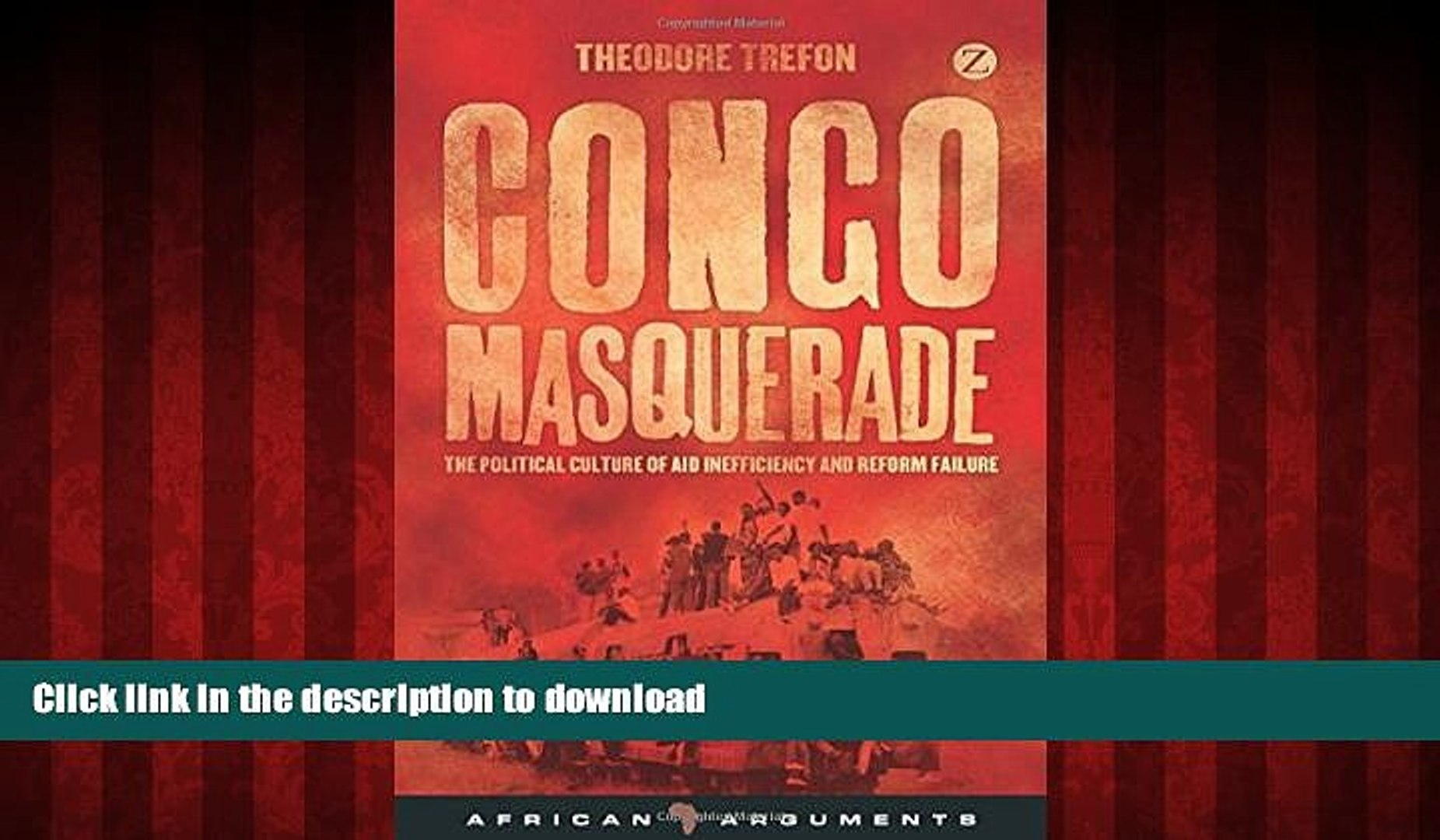 Best book  Congo Masquerade: The Political Culture of Aid Inefficiency and Reform Failure (African