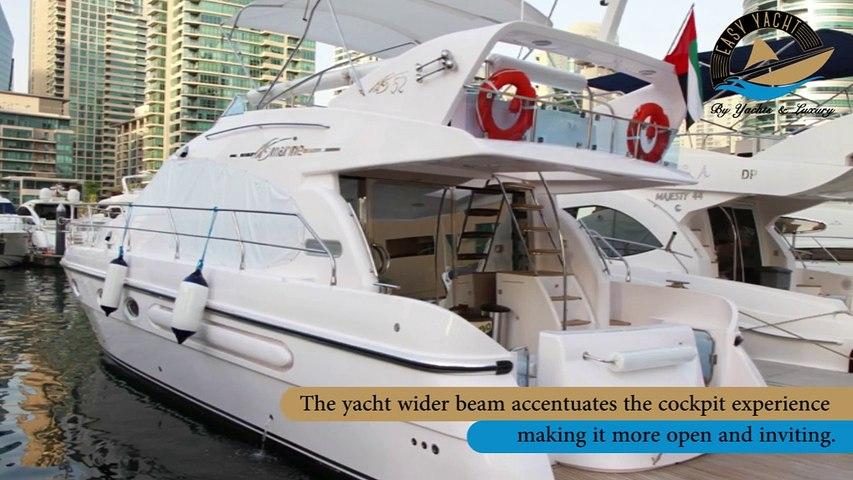 Sea Breeze Yacht Charter Dubai - Easy Yacht
