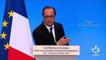 """""""Aux États-Unis, une présidente sera élue"""", la prédiction ratée de François Hollande"""