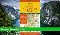 Big Deals  Safari Planning Map to East and Southern Africa: Okavango Delta to Victoria Falls,