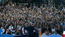 Clinton hangs on: Campaign tells supporters to go home
