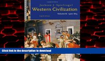 liberty book  Western Civilization: Volume B: 1300 to 1815 online to buy