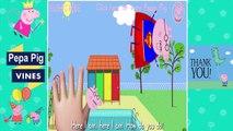 Peppa Pig Vines Peppa Pig Batman Drawing Finger Family Nursery Rhymes Lyrics by Peppa Pig Vines