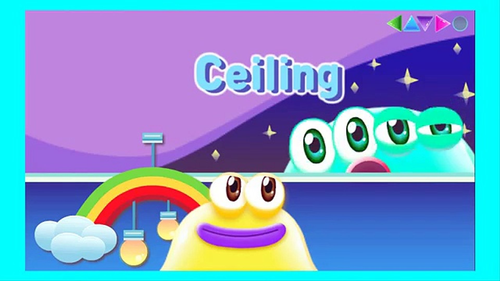 Juddings Today Learn English, Education game for Kids, App Gameplay video