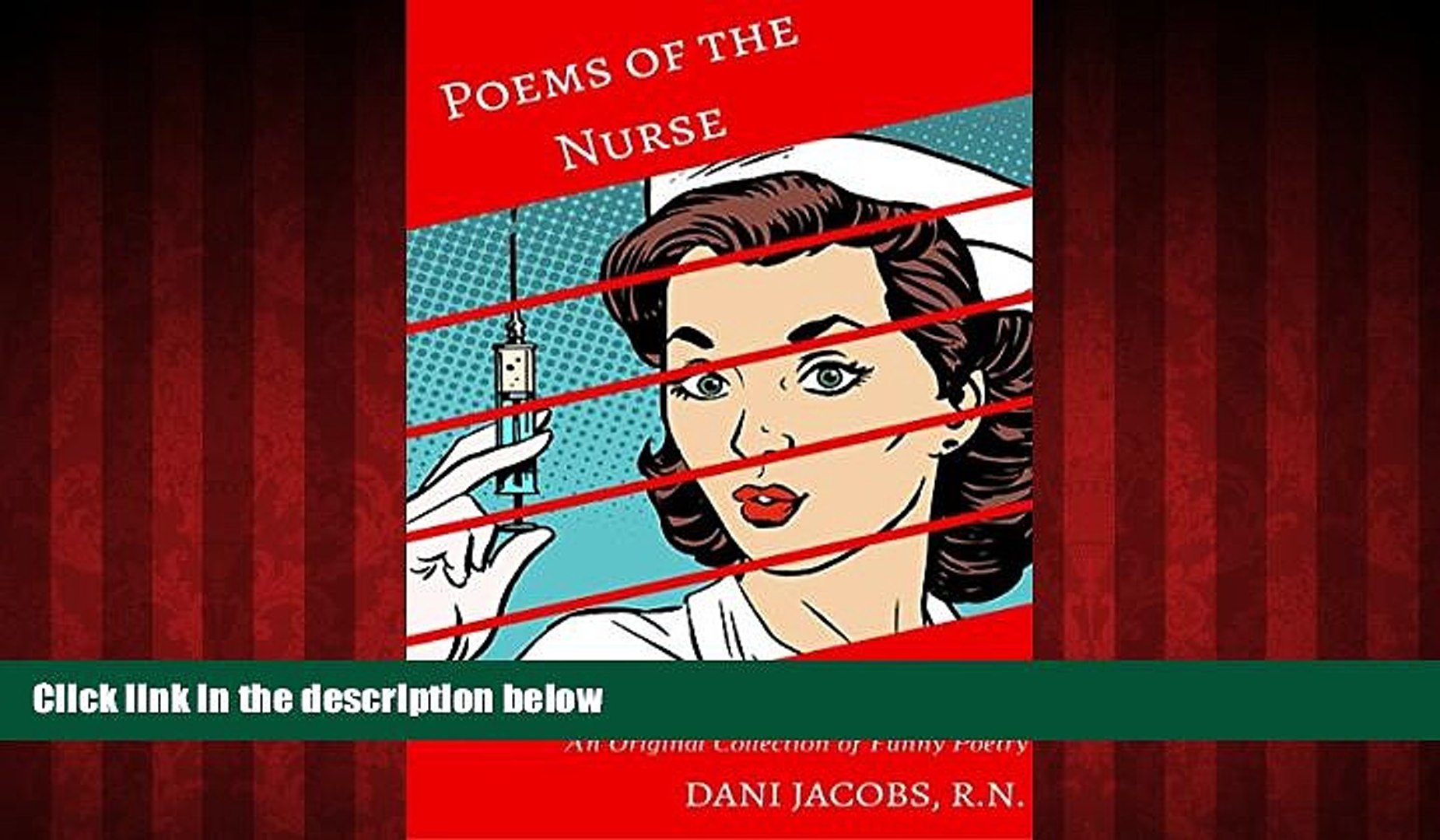 FREE PDF  Poems of the Nurse: An Original Collection of Funny Poetry READ ONLINE