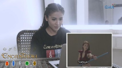 EXCLUSIVE: Sanya Lopez reacts to her audition video for 'Encantadia'