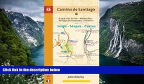 Best Deals Ebook  Camino de Santiago Maps - Mapas - Cartes: St. Jean Pied de Port - Roncesvalles -