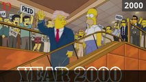 Donald Trump président : les Simpsons l'avaient prédit en 2000