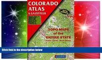 Must Have  Colorado Atlas and Gazetteer (State Atlas   Gazetteer)  Buy Now