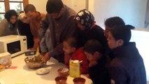 Préparation d'un gâteau au chocolat à l'accueil des enfants le mardi après-midi 8 novembre