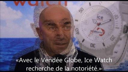 Jean-Pierre Lutgen, président d'Ice Watch, chonométreur officiel du Vendée Globe - vidéo Dailymotion