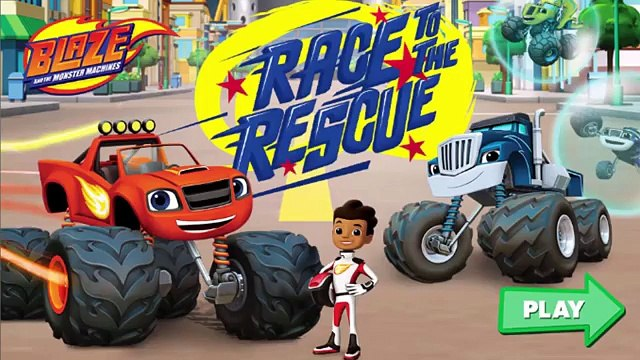 Blaze Race to the Rescue - Blaze And The Monster Machines
