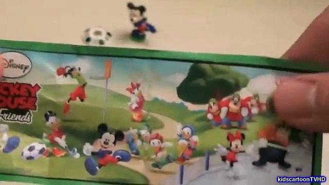 Disney Surprise Eggs - Mickey Donald Surprise Eggs - Frozen Surprise Eggs