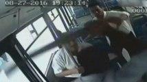 Otobüs Şoförünü Sopalarla Öldüresiye Dövdüler