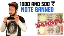 1000 And 500 Rupee Note Banned in India by Prime Minister Narendra Modi | Hindi News