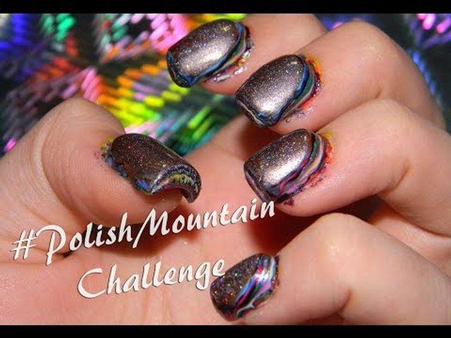 #PolishMountain Challenge - Fail - 100 strati di smalto?