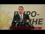 """Rasti """"Spasov"""", VMRO-ja kërkon dorëheqjen e ministrit të brendshëm"""