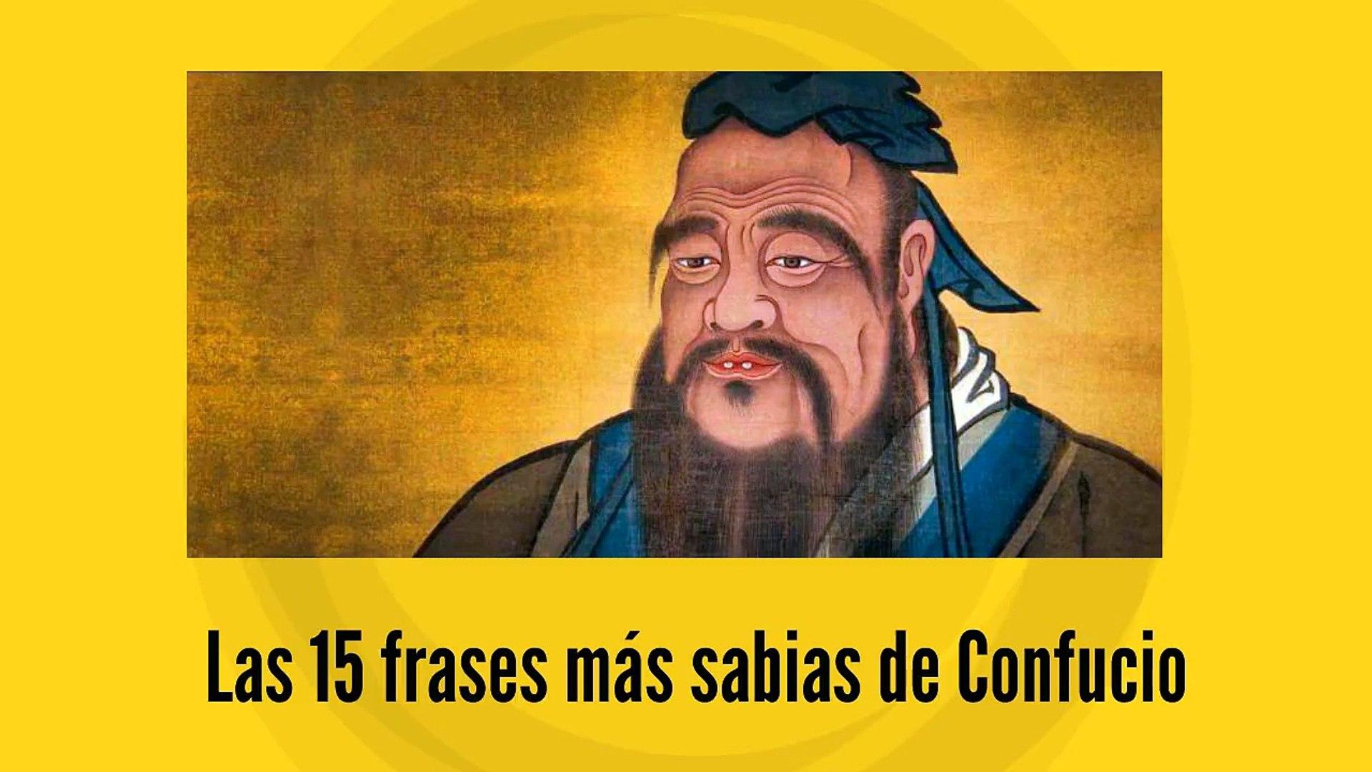 Las 15 Frases Más Sabias De Confucio