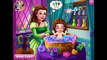 Baby games Belle Baby Wash, Super Baby Princess Caring Dog and Cat, Tinkerbell Caring