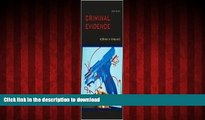 liberty book  Criminal Evidence 6th (sixth) edition Text Only online to buy
