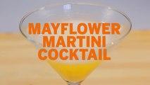 Mayflower Martini Drink Recipe