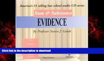 Buy book  Sum   Substance: Evidence (Sum   Substance CD) online