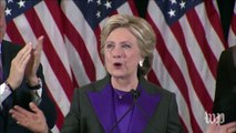 Hillary Clinton's concession speech, in three minutes