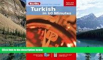 Big Deals  Berlitz Turkish in 60 Minutes (Berlitz in 60 Minutes)  Best Seller Books Best Seller