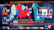 NEWS ALERT : 2016 Presidential Election Results , Donald Trump wins Florida