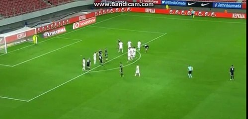 Sjarhej Palicevic Amazing Free-Kick Goal - Greece vs Belarus 0-1  09-11-2016 (HD)