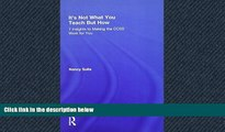 READ book  It s Not What You Teach But How: 7 Insights to Making the CCSS Work for You  FREE