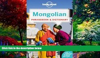 Books to Read  Lonely Planet Mongolian Phrasebook   Dictionary  Full Ebooks Most Wanted