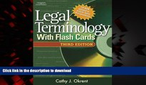 Buy books  Legal Terminology with Flashcards (West Legal Studies)