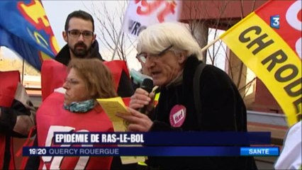 Aveyron - rassemblement manif CGT/FO/Sud  8 novembre 2016